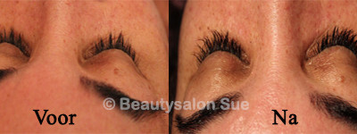 wimperextensions bij Beautysalon Sue